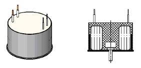 Трансформатор залитый с центральным болтом снизу