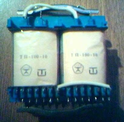 Внешний вид трансформаторов ТП-100
