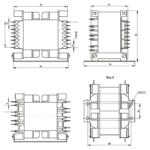 Габаритные размеры трансформаторов ТП-50