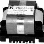 Трансформаторы ТПК-25, характеристика, схема