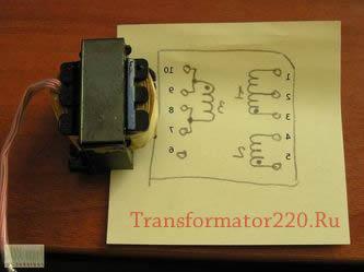 габаритная мощность трансформатора