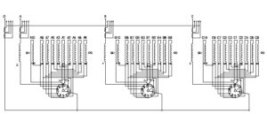 Схема соединения обмоток ТРДН-25000/110