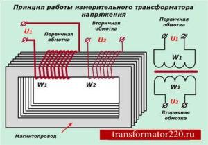 трансформатор напряжения измерительный