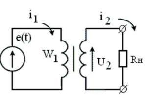 схема работы импульсного трансформатора