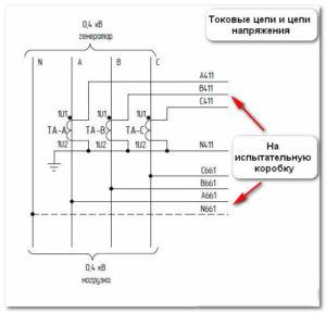 схема трансформатора т 66