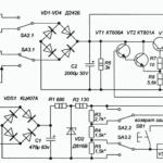 Простой лабораторный блок питания 0-24В (КТ801, КТ803)