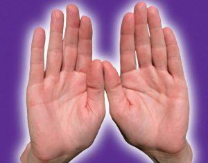 биополе рук