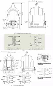 Общий вид трансформатора ЗНОЛ.06-27 (-35) и ЗНОЛ.06.4-35