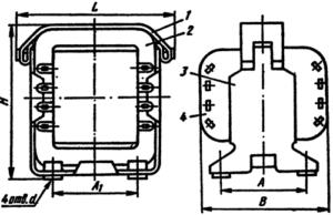 Конструкция броневых трансформаторов типа ТА